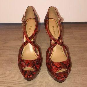 Enzo Angiolini Platform Sandals